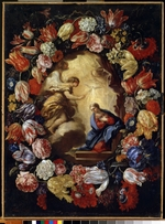 Maratta, Carlo - The Annunciation with flowers