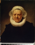 Rembrandt van Rhijn, (School) - Female portrait