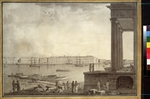 Paterssen, Benjamin - View of the Winter Palace and the Stock Exchange in Saint Petersburg