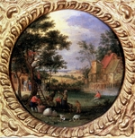 Brueghel, Jan, the Younger - Gathering Apples