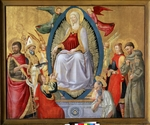 Neri di Bicci - The Assumption of the Blessed Virgin Mary