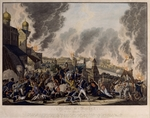 Rugendas, Johann Lorenz, the Younger - Fire of Moscow on 15th September 1812 (The French in Moscow)