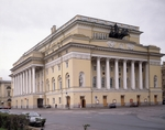Rossi, Carlo - The Alexandrinsky Theatre in Saint Petersburg