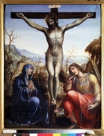 Sodoma - The Crucifixion with Virgin and John the Baptist