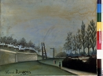 Rousseau, Henri Julien Félix - View of Vanves