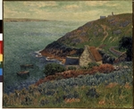 Moret, Henry - At the seashore