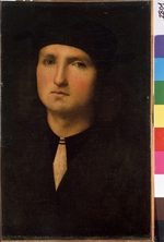 Perugino - Portrait of a young man