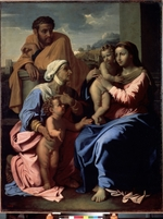 Poussin, Nicolas - The Holy Family with John the Baptist and Saint Elizabeth