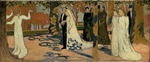 Denis, Maurice - Wedding procession
