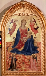 Angelico, Fra Giovanni, da Fiesole - Virgin and child with angels