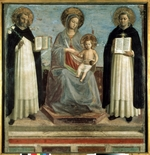 Angelico, Fra Giovanni, da Fiesole - Virgin and Child with Saints Dominicus and Thomas Aquinas