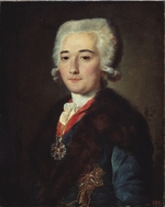 Shibanov, Mikhail - Portrait of Count Alexander Dmitriev-Mamonov, the Catherine II' favorite