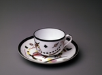 Kandinsky, Wassily Vasilyevich - Cup with saucer