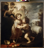 Murillo, Bartolomé Estebàn - Christ and John the Baptist as Children
