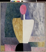 Malevich, Kasimir Severinovich - Torso (Figure with Pink Face)