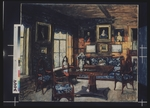 Zhukovsky, Stanislav Yulianovich - The Drawing room in the Manor house Rozhdestveno