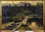 Levitan, Isaak Ilyich - At the shallow