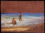 Ge, Nikolai Nikolayevich - Boys on the seashore