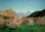 Levitan, Isaak Ilyich - Spring in Italy