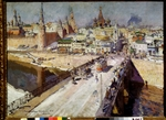 Korovin, Konstantin Alexeyevich - The Moskvoretsky Bridge in Moscow