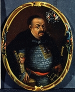 Anonymous - Portrait of Hetman Bohdan Khmelnytsky (1595-1657)