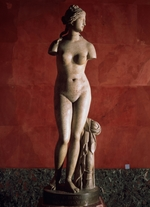 Art of Ancient Rome, Classical sculpture - The Venus Tauride or Venus of Tauris (Aphrodite) (Roman copy from a Greek Original)