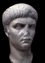 Art of Ancient Rome, Classical sculpture - Portrait bust of Nero