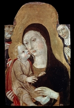 Sano di Pietro - The Virgin and Child with Saints