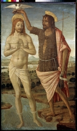 Cozzarelli, Guidoccio di Giovanni - The Baptism of Christ