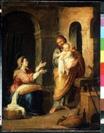 Murillo, Bartolomé Estebàn - The Holy Family
