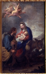 Murillo, Bartolomé Estebàn - The Flight into Egypt