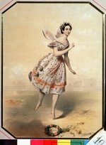 Anonymous - Dancer Maria Taglioni (1804-1884) in the ballet Sylphides by F. Chopin
