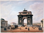 Benoist, Philippe - The Triumphal Arch at the Tver Gates in Moscow