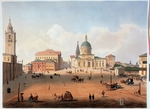 Jacottet, Louis Julien - The Peter Square in Moscow