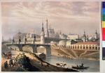 Bichebois, Louis-Pierre-Alphonse - View of the Moscow Kremlin