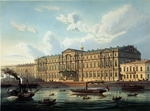 Charlemagne, Adolf - The Michael Palace and Palace Quay in Saint Petersburg