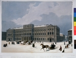 Arnout, Louis Jules - The Mariinsky Palace (Marie Palace) on the St Isaac's Square in Saint Petersburg