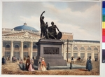 Benoist, Philippe - Monument to Minin and Pozharsky on Red Square of Moscow