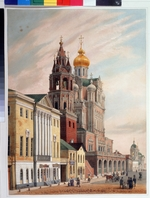 Arnout, Louis Jules - The Church of the Dormition of the Theotokos at the Pokrovka Street in Moscow