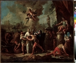 Diziani, Gaspare - The Martyrdom of Saint Lawrence