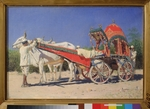 Vereshchagin, Vasili Vasilyevich - Vehicle of a Rich Family in Delhi