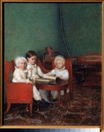 Anonymous - Children in an interior