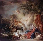 Boucher, François - The Rest on the Flight into Egypt