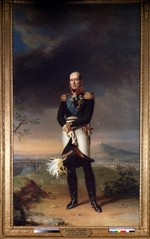Dawe, George - Portrait of Field marshal Count Mikhail Barklay-de-Tolli (1761-1818)