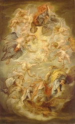 Rubens, Pieter Paul - Apotheosis of the King James I