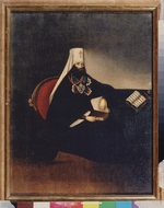 Russian master - Portrait of the Metropolitan Filaret of Moscow (1782-1867)