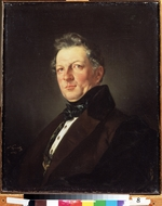 Briullov, Karl Pavlovich - Portrait of the architect Andrei M. Bolotov (1801—1854)