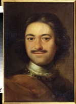 Anonymous - Portrait of Emperor Peter I the Great (1672-1725)