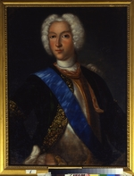 Wedekind, Johann-Heinrich - Portrait of the Tsar Peter II of Russia (1715-1730)