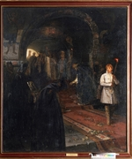 Nesterov, Mikhail Vasilyevich - The Supplicants at the Court of the Tsar